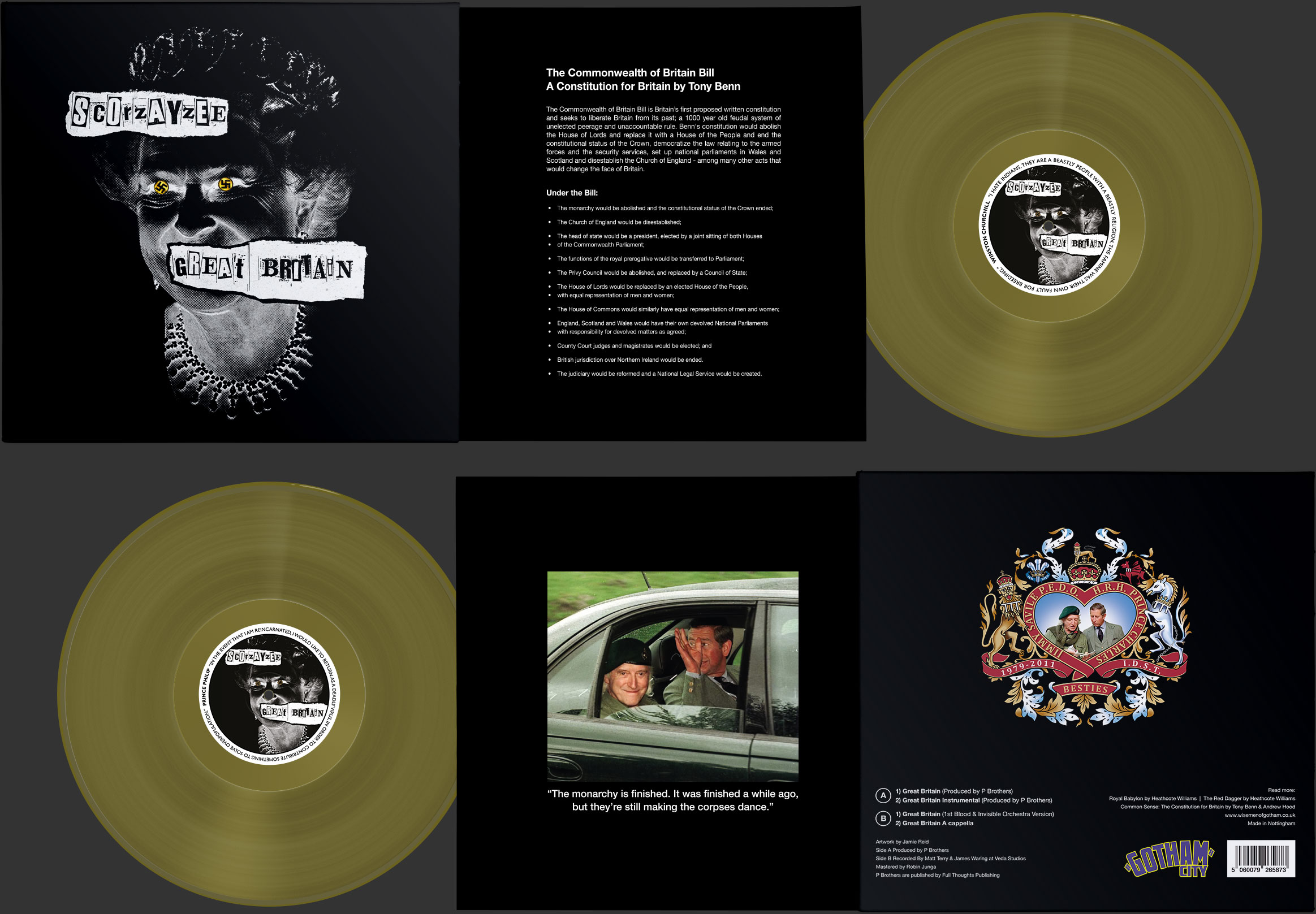 Great Britain Limited Edition Deluxe Vinyl
